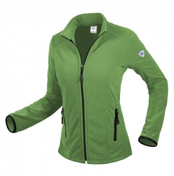 BP-Damen-Fleece-Arbeits-Berufs-Jacke, 275 g/m², new green