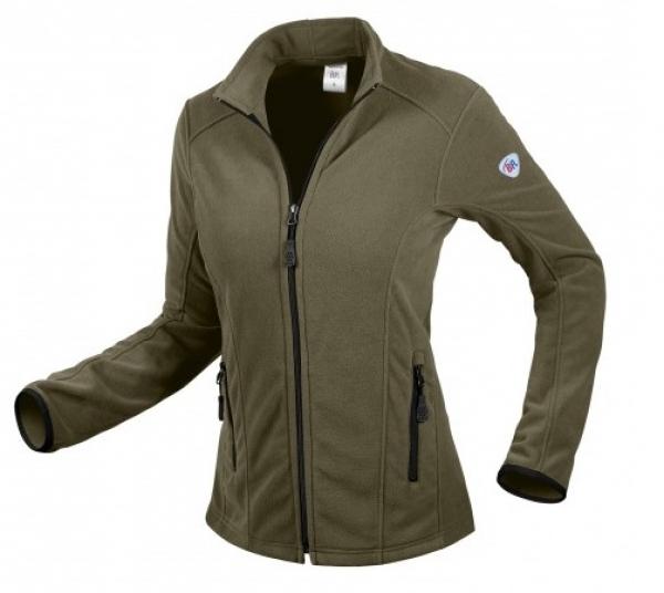 BP-Damen-Fleece-Arbeits-Berufs-Jacke, 275 g/m², oliv