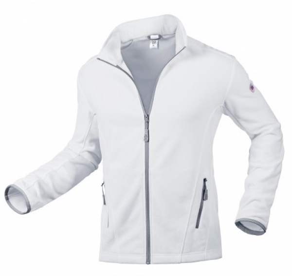 BP-Fleece-Arbeits-Berufs-Jacke, 275 g/m², weiß