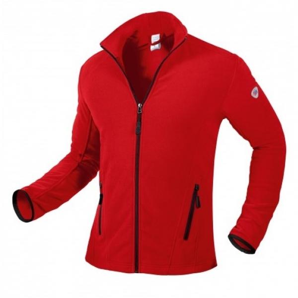 BP-Fleece-Arbeits-Berufs-Jacke,, 275 g/m², rot