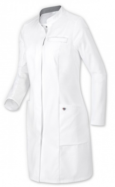 BP-Damen-Arbeits-Berufs-Mantel, Arzt-Kittel, ca. 200g/m², weiß