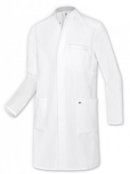 BP-Herren-Arbeits-Berufs-Mantel, Arzt-Kittel, ca. 200g/m², weiß