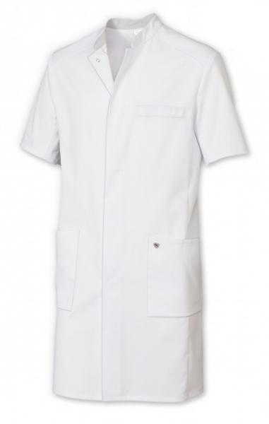 BP-Herren-Arztkittel, 1/2 Arm, ca. 200g/m², weiß