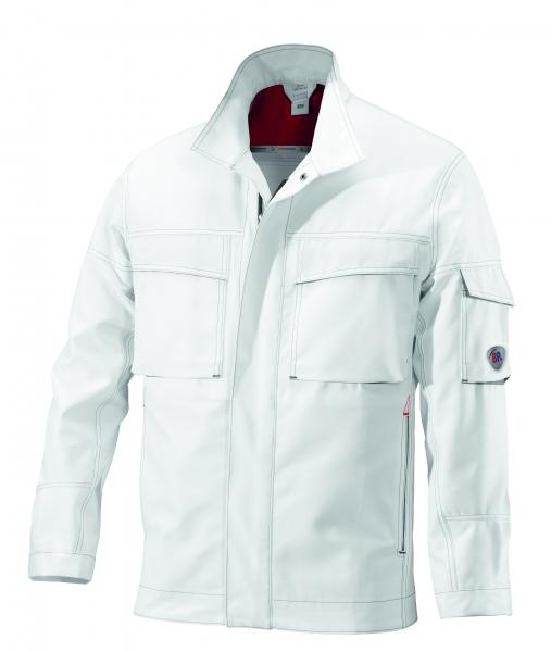 BP Arbeits-Berufs-Bund-Jacke, Blouson, weiß/dunkelgrau