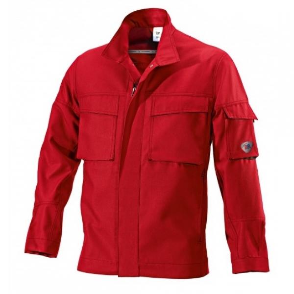 BP Arbeits-Berufs-Bund-Jacke, Blouson, rot/schwarz