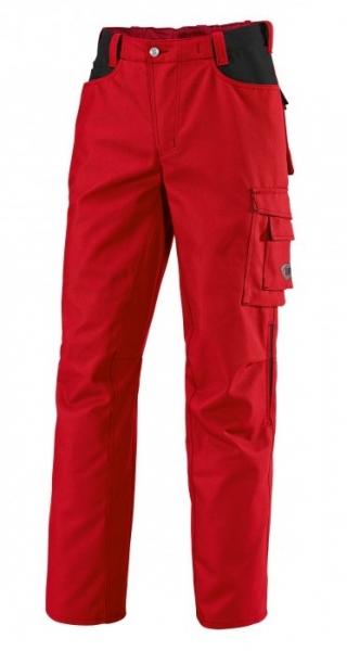 BP Arbeits-Berufs-Hose, Bundhose, rot/schwarz