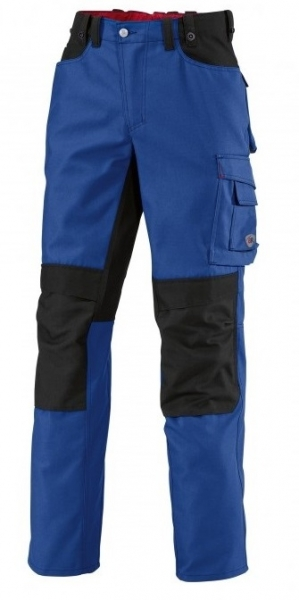 BP Arbeits-Berufs-Hose, Bundhose, königsblau/schwarz