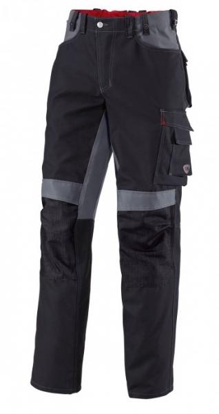 BP Arbeits-Berufs-Hose, Bundhose, schwarz/dunkelgrau