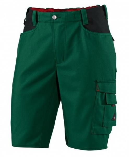 BP Arbeits-Berufs-Shorts, ca. 295 g/m², mittelgrün/schwarz