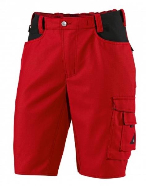 BP Arbeits-Berufs-Shorts, ca. 295 g/m², rot/schwarz