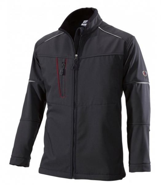 BP Winter-Softshell-Arbeits-Berufs-Jacke schwarz