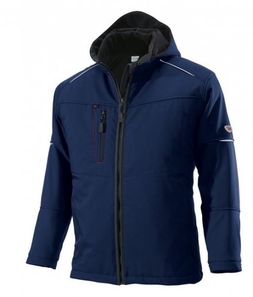 BP-Winter-Softshell-Arbeits-Berufs-Jacke, ca. 300g/m², nachtblau