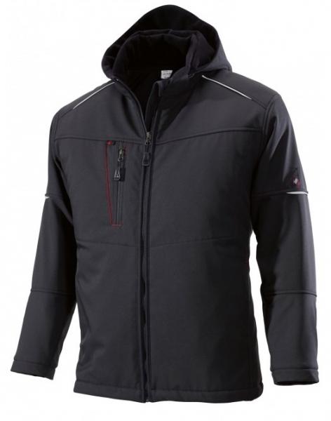 BP Winter-Softshell-Arbeits-Berufs-Jacke, schwarz