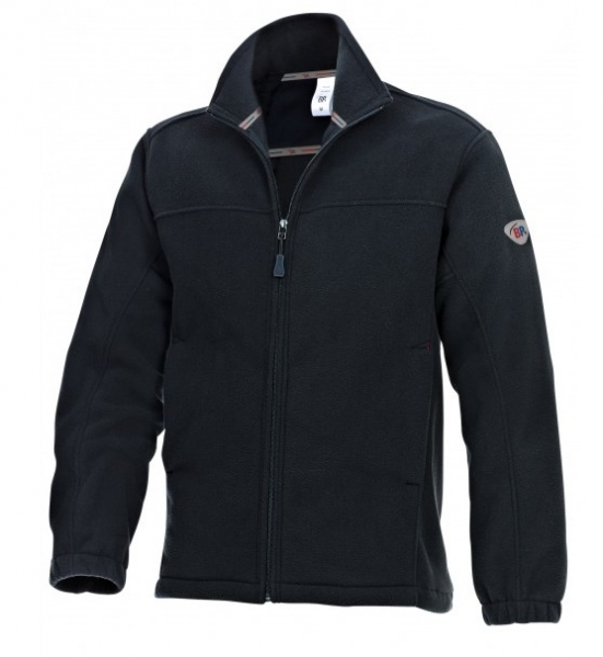 BP Winter-Fleece-Arbeits-Berufs-Jacke, schwarz