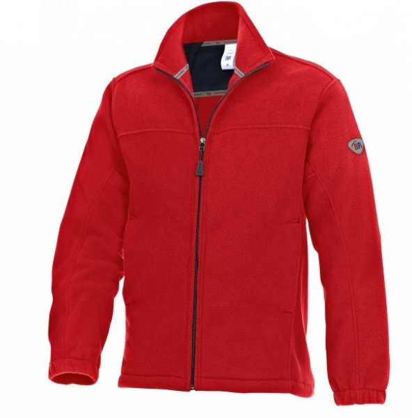BP Winter-Fleece-Arbeits-Berufs-Jacke, rot