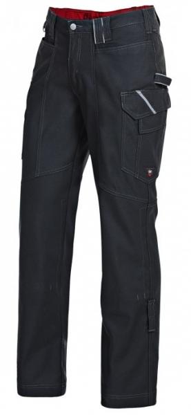 BP Arbeits-Berufs-Bund-Hose, Workerhose schwarz-grau