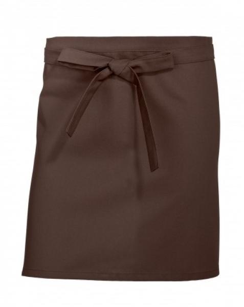 BP-Vorbinder, Arbeits-Berufs-Schürze, kurz, 3 Stück, ca. 215g/m², chocolate