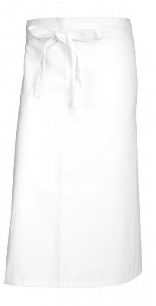 BP-Bistroschürze, Arbeits-Berufs-Schürze, kurz, 3 Stück, ca. 215g/m², weiß