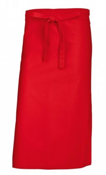 BP-Bistroschürze, Arbeits-Berufs-Schürze, kurz, 3 Stück, ca. 215g/m², rot