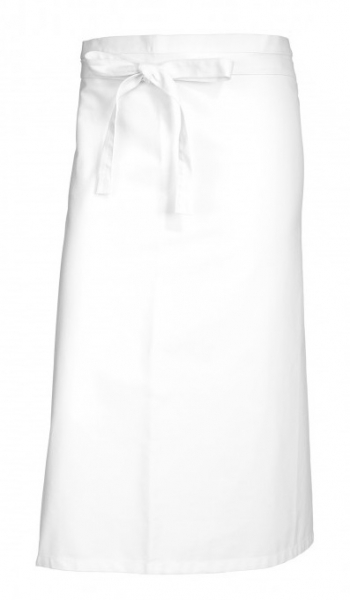 BP-Bistroschürze, Arbeits-Berufs-Schürze, lang, 3-Stück-Packung, MG 215, weiß