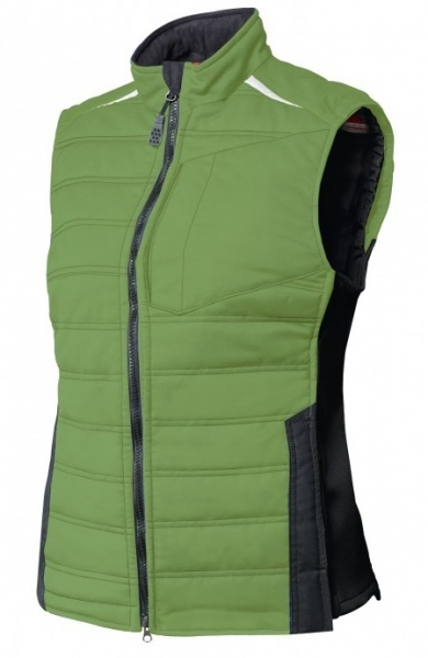 BP-Damen-Winter-Arbeits-Berufs-Weste, Thermoweste, ca. 250g/m², new green