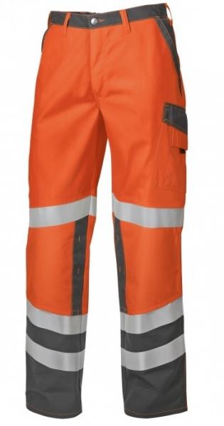 BP Warn-Schutz-Arbeits-Berufs-Bund-Hose, Protected, warnorange/dunkelgrau