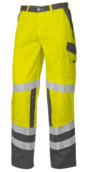 BP Warn-Schutz-Arbeits-Berufs-Bund-Hose Protected, warngelb/dunkelgrau