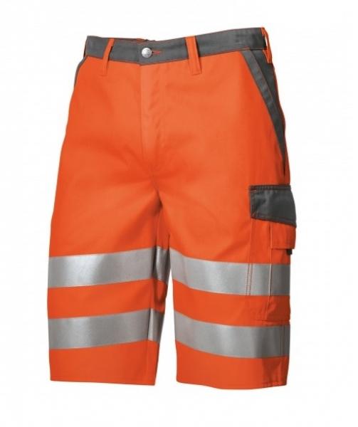BP Warn-Schutz-Shorts, warnorange/dunkelgrau