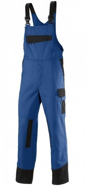 BP Schweißer-Arbeits-Schutz-Berufs-Latz-Hose, Multi Protect, MG320, königsblau/schwarz