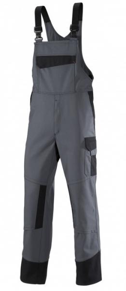 BP Schweißer-Latzhose, Multi Protect, MG320, dunkelgrau/schwarz