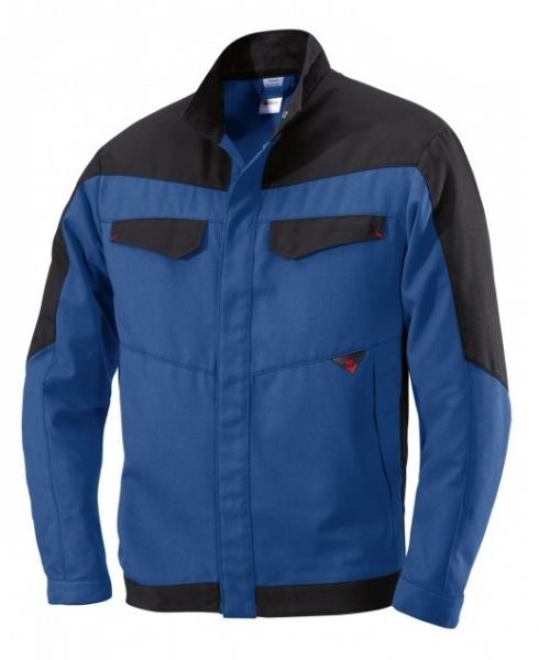 BP Schweißer-Arbeits-Schutz-Berufs-Jacke, Blouson, Multi Protect, MG320, königsblau/schwarz