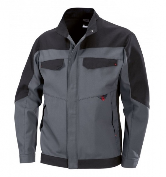 BP Arbeits-Berufs-Bund-Jacke, Blouson, Multi Protect, MG320, dunkelgrau/schwarz