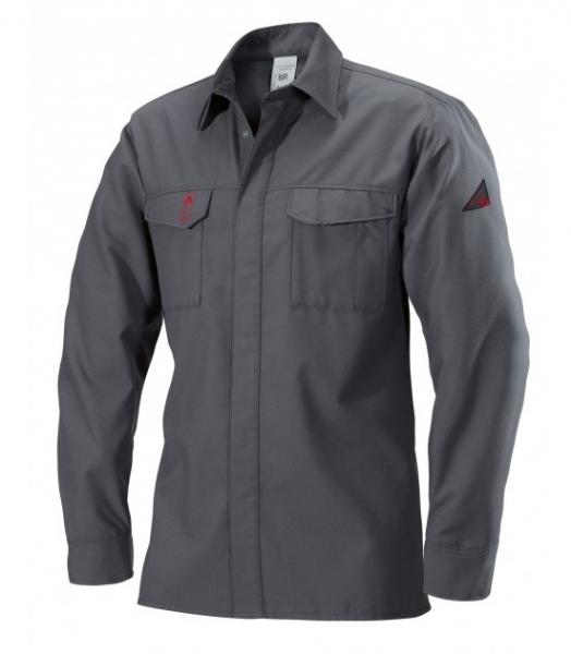 BP-Schweißer-Herren-Arbeits-Berufs-Hemd, ca. 160g/m², dunkelgrau