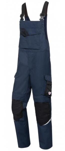 BP-Schweißer-Latzhose, Multi Protect Plus, nachtblau/schwarz