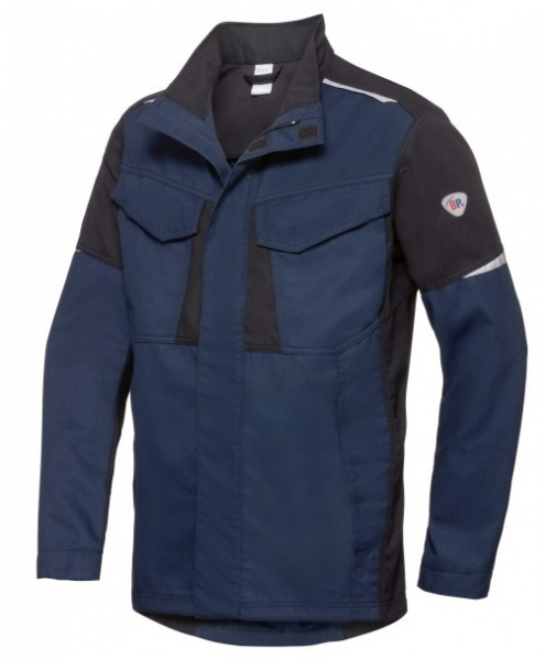 BP-Schweißer-Arbeitsjacke, Multi Protect Plus, nachtblau/schwarz