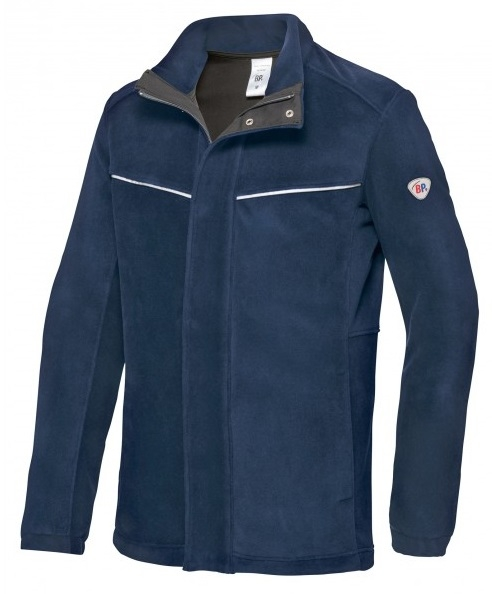 BP-Herren Schweißer-Fleecejacke, Multi Protect Plus, nachtblau