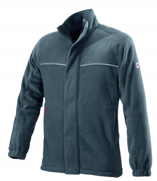 BP-Winter-Fleece-Arbeits-Berufs-Jacke, ca. 350g/m², dunkelgrau