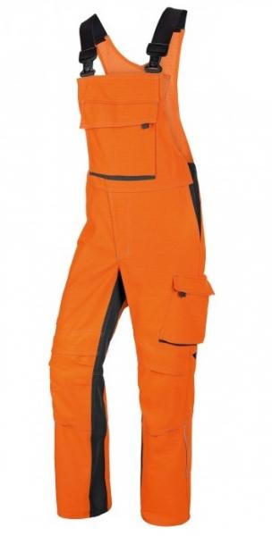 BP-Schweißer-Arbeits-Schutz-Berufs-Latz-Hose, Welder´s Comfort,  ca. 410g/m², orange/anthrazit
