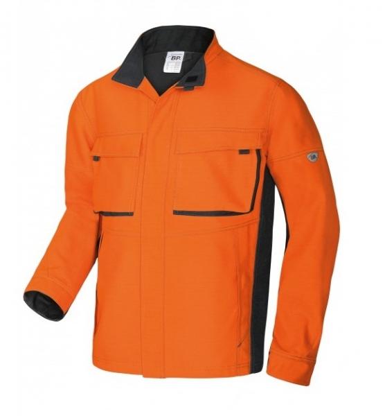 BP-Schweißer-Arbeits-Schutz-Berufs-Jacke, Welder´s Comfort,  ca. 410g/m², orange/anthrazit