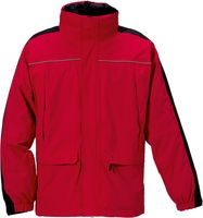 ROFA- Funktions-Wetter- und Winter-Arbeits-Berufs-Jacke, rot-schwarz