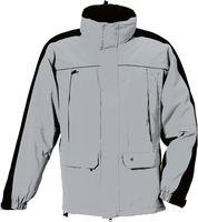 ROFA- Funktions-Wetter- und Winter-Arbeits-Berufs-Jacke, grau-schwarz
