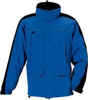 ROFA- Funktions-Wetter- und Winter-Arbeits-Berufs-Jacke, kornblau-schwarz