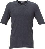 ROFA-SJ-Kurzarm-Unterhemd, schwarz
