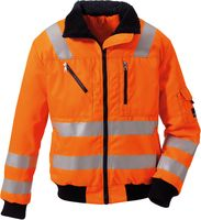 ROFA-New Line Warn-Schutz-Arbeits-Berufs-Jacke, Polar Basic 490, leuchtorange