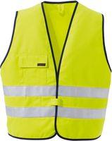 ROFA-Warn-Schutz, Arbeits-Sicherheits-Berufs-Weste, Multiseven 190, leuchtgelb-marine