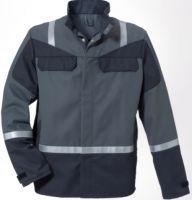 ROFA-Arbeits-Berufs-Bund-Jacke, Multisix, ca. 330 g/m², grau-anthrazit