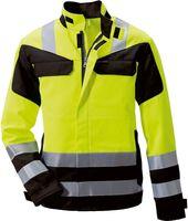 ROFA-PSA-Bekleidung Modacryl, Warn-Schutz-Arbeits-Berufs-Jacke 360 - Multi seven, leuchtgelb-marine