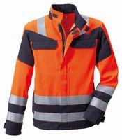 ROFA-Warn-Schutz-Jacke 360 - Multi seven, leuchtorange-grau