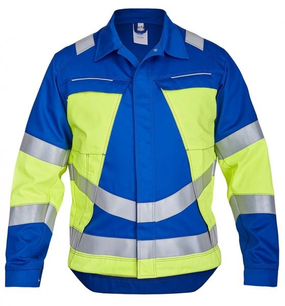 ROFA-Jacke, Vis Line, 340 g/m², kornblau/leuchtgelb