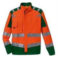 ROFA-Warn-Schutz-Arbeits-Berufs-Bund-Hose, leuchtorange-grün
